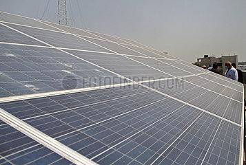 MIDEAST-GAZA-CHINA-GEFÖRDERT-SOLAR ENERGY