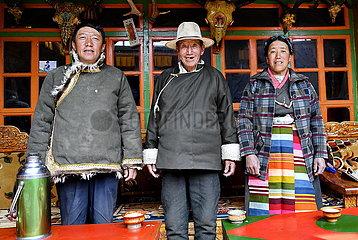(InTibet) CHINA-TIBET-EHEMALIGE SERF-NEW LIFE (CN) (InTibet) CHINA-TIBET-EHEMALIGE SERF-NEW LIFE (CN)