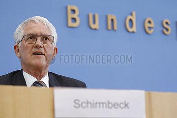 Bundespressekonferenz zum Thema: Die Zukunft des deutschen Waldes
