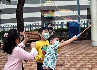 CHINA-Hongkong COVID-19-Fällen (CN)