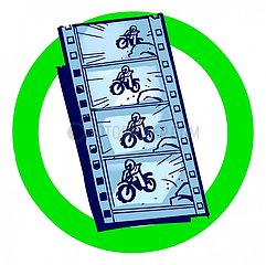 Serie Icons -Filmen erlaubt