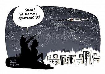 Sputnik-Impfstoff : Spahn will bilateral mit Russland verhandeln
