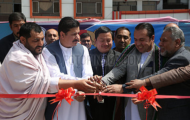 AFGHANISTAN-KABUL-CHINESE PRODUCT-EXHIBITION