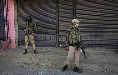 KASHMIR-BIJBEHARA-TERRITORIAL ARMY TROOPER-KILLING