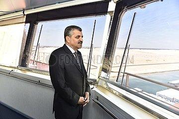 EGYPT-SUEZ CANAL-SCA-DREDGE-ARRIVAL
