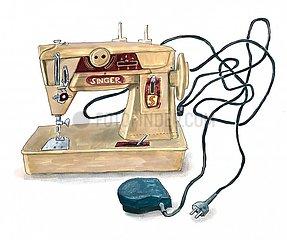 Vintage Naehmaschine