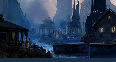 Geheimnisvolles Dorf