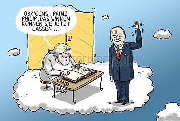 Prinz Philip gestorben
