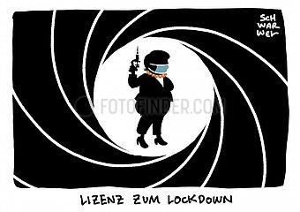 SPD unterstuetzt Unionsvorstos: Bund bekommt Lizenz zum Lockdown