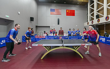 Xinhua Headlines: 50 years on  Ping-Pong Diplomacy shows lasting value