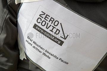 Zero Covid Protest in München