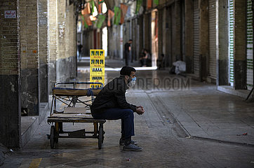 IRAN-TEHRAN-COVID-19-NATIONWIDE RESTRICTIONS-IMPOSED