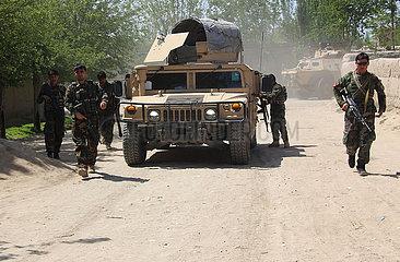 AFGHANISTAN-KUNDUZ-MILITARY OPERATION