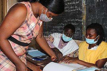 BENIN-PAHOU-PRESIDENTIAL ELECTION-VOTE