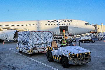 PHILIPPINES-MANILA-SINOVAC VACCINES-ARRIVAL