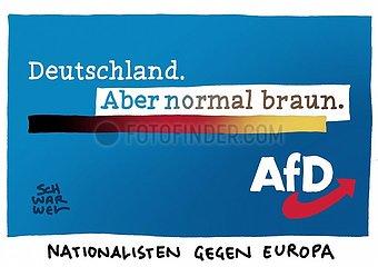 AfD-Bundesparteitag : Mehrheit der Delegierten fuer EU-Austritt Deutschland