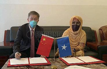 SOMALIA-MOGADISHU-CHINA-DONATED SINOPHARM VACCINES
