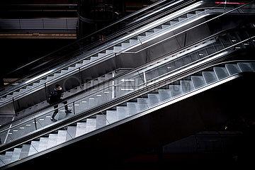 Hauptbahnhof Berlin - Corona-Pandemie