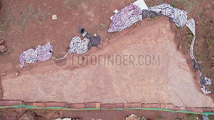 CHINA-FUJIAN-DINOSAUR-Abdruck-Aushubarbeiten (CN)
