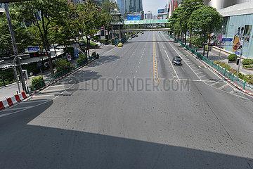 THAILAND-BANGKOK-COVID-19-SONGKRAN FESTIVAL