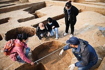 CHINA-HENAN-ANYANG-ARCHEOLOGY (CN)