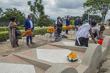 Rwanda-KIGALI-GENOCIDE GEDENKEN