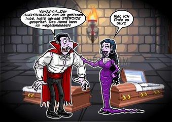 Dracula als Cornetto