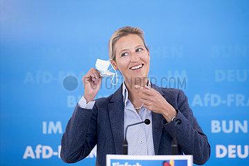 Alice Weidel  AfD-Fraktion