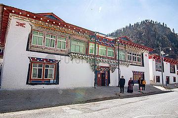 (InTibet) CHINA-TIBET-EHEMALIGE SERF-NEW LIFE-Losang Namgyal (CN)