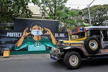 PHILIPPINEN-MANILA-COVID-19-FÄLLE