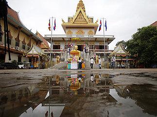 CAMBODIA-PHNOM PENH-COVID-19-KHMER NEW YEAR