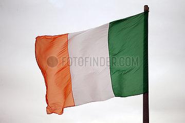 Riad  Saudi-Arabien  Nationalfahne von Irland