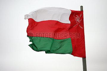 Riad  Saudi-Arabien  Nationalfahne des Oman