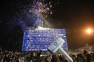 ISRAEL-TEL AVIV-INDEPENDENCE DAY