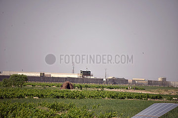 AFGHANISTAN-KANDAHAR-NATO BASE