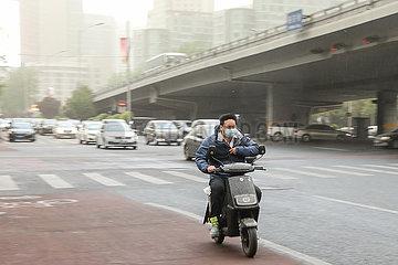 CHINA Beijing-WEATHER (CN)