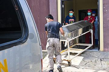 INDONESIA-MAKASSAR-TERRORIST-SUSPECT-DEATH