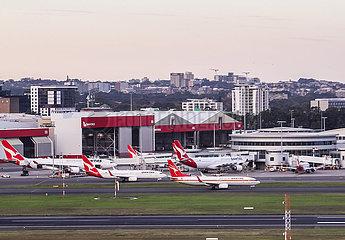 AUSTRALIA-SYDNEY-AIRLINE