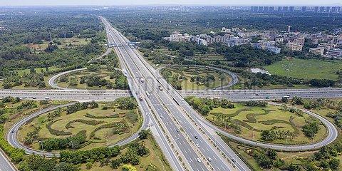 CHINA-HAINAN-EXPRESSWAY-AERIAL VIEWS (CN)