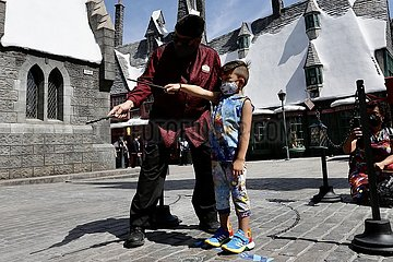 U.S.-LOS ANGELES-UNIVERSAL STUDIOS HOLLYWOOD-REOPENING-PREVIEW