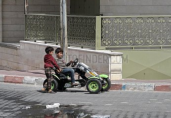 MIDEAST-GAZA CITY-COVID-19-LOCKDOWN