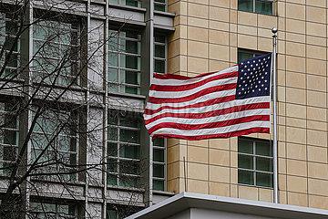 RUSSIA-Moskau-US-ausstoß DIPLOMATS