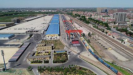 # CHINA-HEBEI-SHIJIAZHUANG-Güterzug EUROPE (CN)