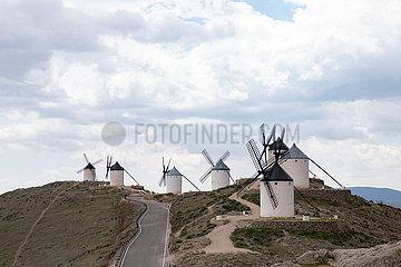SPAIN-CONSUEGRA-WINDMILL