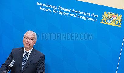 Vorstellung des bay. Verfassungsschutzbericht 2020