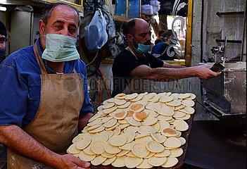 SYRIA-DAMASCUS-RAMADAN-TRADITIONAL SWEETS