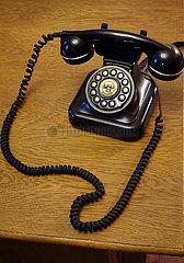 Krakau  Polen  Tastentelefon im Retrostyle