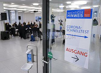 Veranstaltung in Zeiten der Corona Pandemie  Uniklinik Bonn  Nordrhein-Westfalen  Deutschland