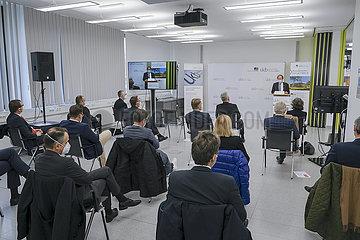 Einweihung Biomedizinisches Zentrum am Universitaetsklinikum Bonn  Nordrhein-Westfalen  Deutschland
