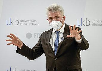 Prof. Dr. Andreas Pinkwart  NRW Wirtschaftsminister  Universitaetsklinikum Bonn  Einweihung Biomedizinisches Zentrum am Universitaetsklinikum Bonn  Nordrhein-Westfalen  Deutschland
